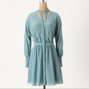 Leifsdottir light green dress